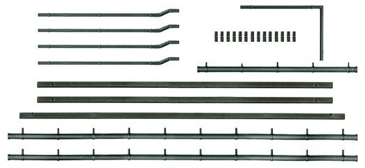 Ratio 538 Gutters/Downpipes OO Scale Plastic Kit