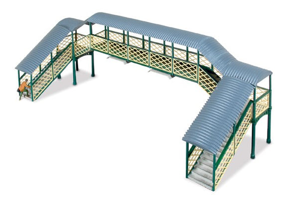 Ratio 548 Modular Covered Footbridge OO Scale Plastic Kit