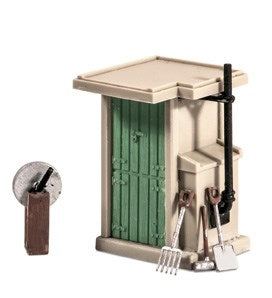 Ratio 549 Fogman's Hut OO Scale Plastic Kit