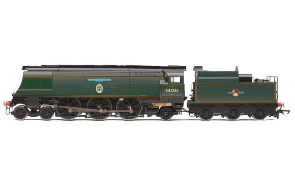 Hornby R3866 BR Battle of Britain Class 4-6-2 34051 'Winston Churchill'