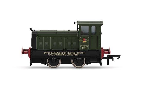 PRE-ORDER Hornby R3896 Ruston & Hornsby 88DS, BR Departmental No.84