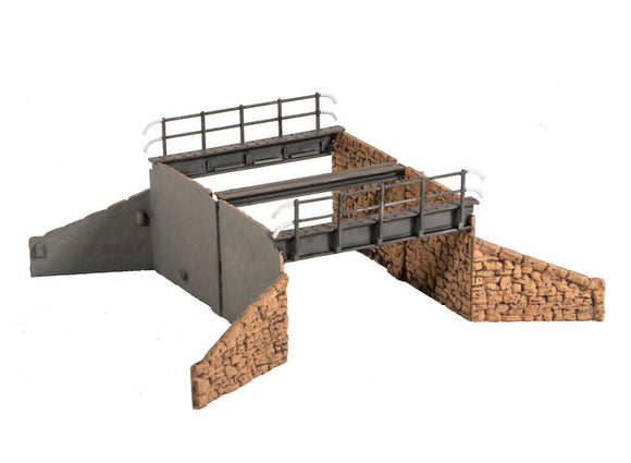 Wills SS32 Occupation Bridge (Double Track) and Stone Abutments OO Scale Plastic Kit