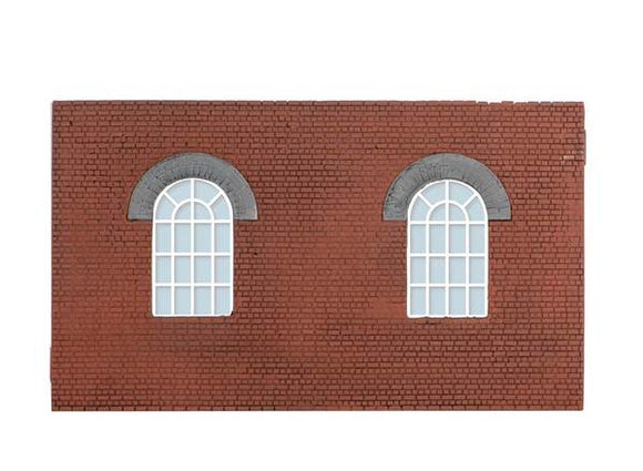 Wills SS71 Round Top Windows OO Scale Plastic Kit