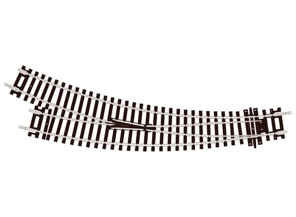 PECO ST-244 Setrack Right Hand Curved Turnout OO Gauge