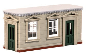Wills SS78 Timber Island Platform Station Building OO Scale Plastic Kit