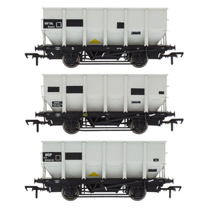 Accurascale BR 24.5T HOP24/HUO Coal Hopper - Grey pre TOPS- Pack O