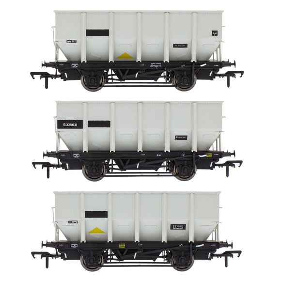 Accurascale BR 24.5T HOP24/HUO Coal Hopper - Grey pre TOPS- Pack Q
