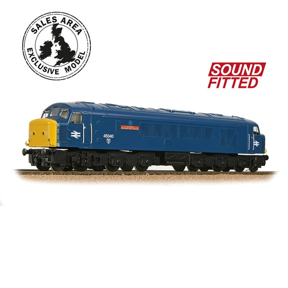 Bachmann 32-684DBSF Class 45/0 45040 'The King's Shropshire Light Infantry' BR Blue SOUND FITTED