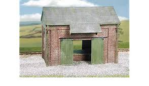 Wills Craftsman CK19 Brick Goods Shed Plastic Kit