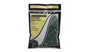 Woodland Scenics FC136 Medium Green Underbush Bag