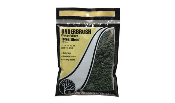 Woodland Scenics FC139 Forest Blend Underbush Bag