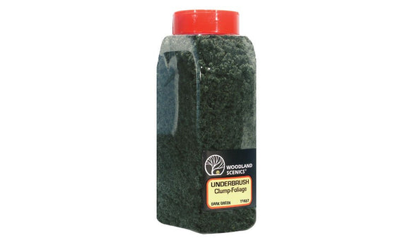 Woodland Scenics WFC1637 Dark Green Underbush Shaker