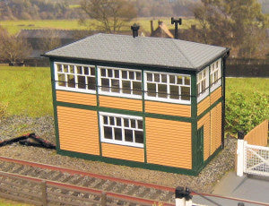 Gaugemaster GM402 Fordhampton Signal Box OO Scale Plastic Kit