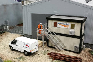Gaugemaster GM422 Fordhampton Site Office OO Scale Plastic Kit