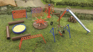 Gaugemaster GM426 Fordhampton Playground OO Scale Plastic Kit