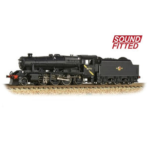 Graham Farish 372-163DS N Gauge LMS Stanier Class 8F 2-8-0 48773 BR Black Late Crest SOUND FITTED