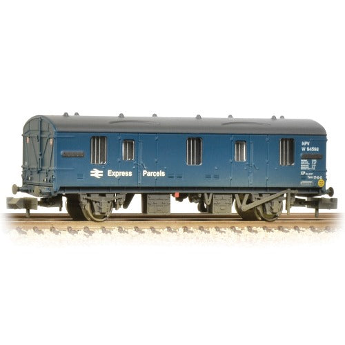 Graham Farish 374-642 Mk1 CCT BR Blue Express Parcels Weathered