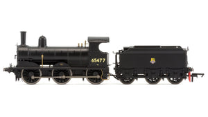Hornby R3415 BR(ex-LNER) J15 Class 0-6-0 No.65477 BR Black Early Crest