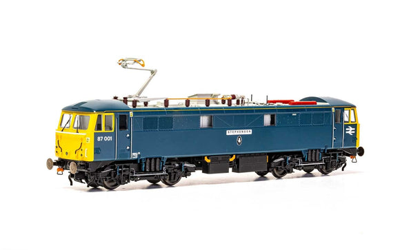 Hornby R3739 BR Class 87 Bo-Bo 87001 (dual named) 'Royal Scot' and 'Stephenson'