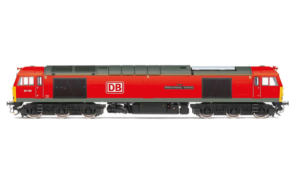 Hornby R3884 DB Cargo UK Class 60 Co-Co 60100 'Midland Railway - Butterley'