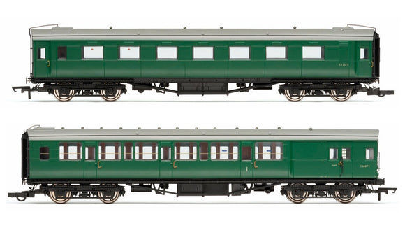 Hornby R4534e BR (Ex-Maunsell) Pull/Push Coach Pack Set 601