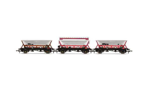 Hornby R6963 National Wagon Preservation Group Hopper wagons three pack