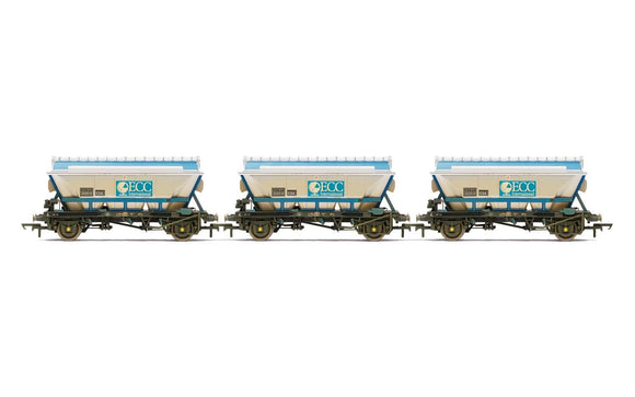 Hornby R6964 ECC CDA Hoppers weathered three pack