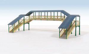 Ratio 248 Modular Covered Footbridge N Scale Plastic Kit