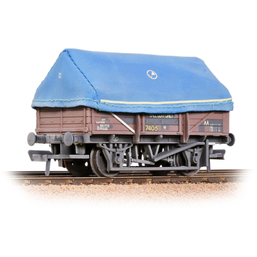Bachmann 33-085a China Clay Wagon BR Bauxite with Hood weathered