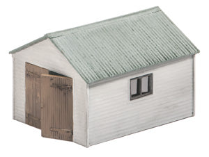 Wills SS13 Domestic Garage OO Scale Plastic Kit