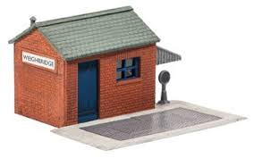 Wills SS16 Weighbridge & Hut OO Scale Plastic Kit