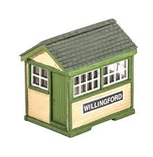 Wills SS29 Ground Level Signal Box OO Scale Plastic Kit