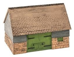 Wills SS30 Barn OO Scale Plastic Kit