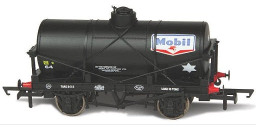 Oxford Rail 76TK2001 12T Tank Wagon Mobil No.64