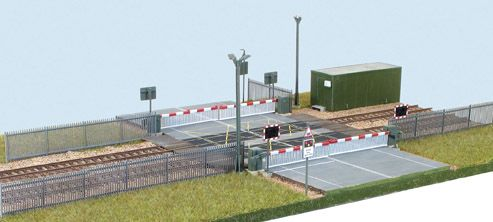 Wills Modern SSM318 Modern Level Crossing OO Scale Plastic Kit