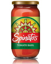 Load image into Gallery viewer, Spinato's, Tomato Basil Sauce - 24 Ounce Glass Jar (Pack of 6) All-natural, gluten free, no trans fats, no preservatives - Spinato's