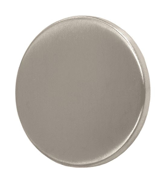 Concealed Fixing Blind Escutcheon, 53mm Diameter, Satin Stainless Steel (SINGLES)