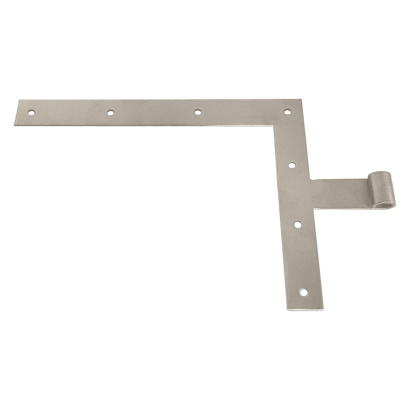 Angle Strap Hinge, Brushed Grade 316 Stainless Steel