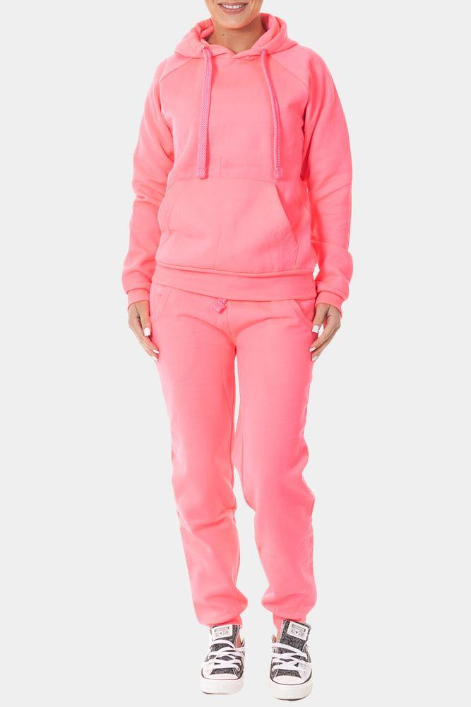 Plain Hooded Tracksuit