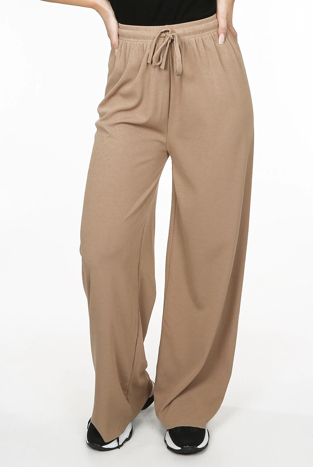 BURNOUT WIDE LEG TROUSERS