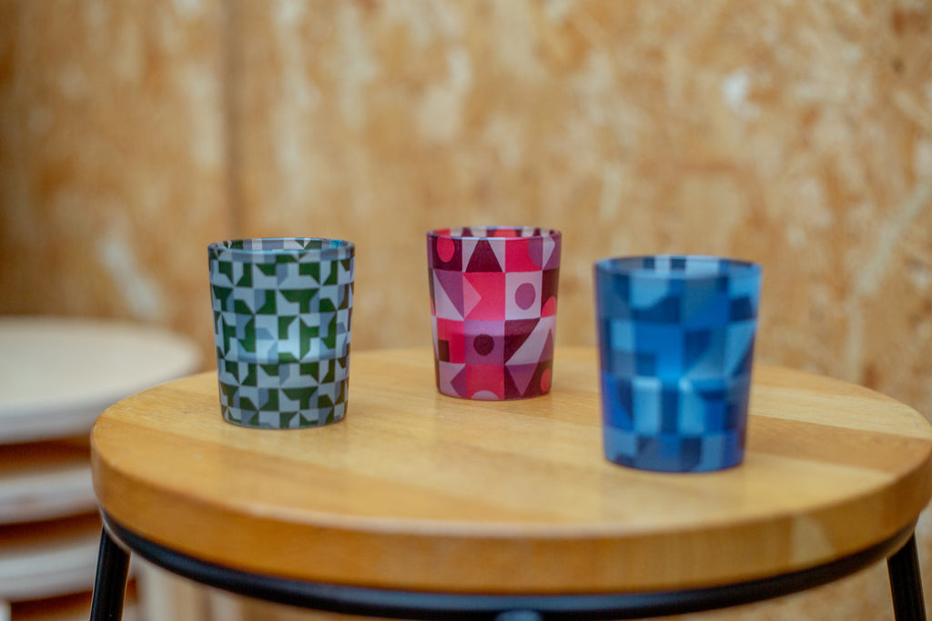 Tom Smarte Lifestyle - Glass Candle Holders