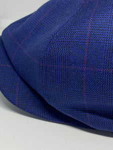 204 Newsboy Cap, Blue Check