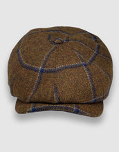 Load image into Gallery viewer, 204 Newsboy Cap, Brown Check