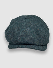 Load image into Gallery viewer, 204 Newsboy Cap, Teal Donegal