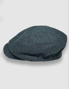 204 Newsboy Cap, Teal Donegal