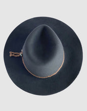 Load image into Gallery viewer, 381 Rabbit Felt Fedora, Gunmetal