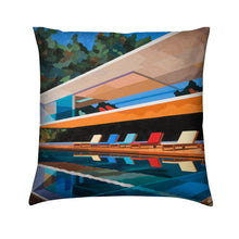 Load image into Gallery viewer, Brushed Twill Cushion, Brazil House
