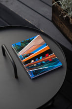 Load image into Gallery viewer, Spiral A5 Notebook, Brazil House