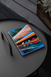 Spiral A5 Notebook, Brazil House