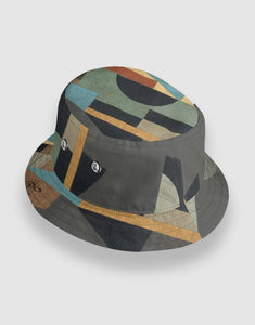 601 Reversible Waterproof Bucket Hat, Black